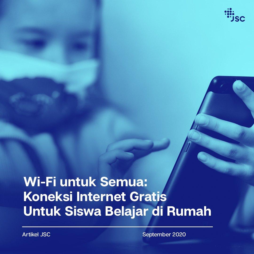 Menghubungkan Jakarta dengan JakWifi