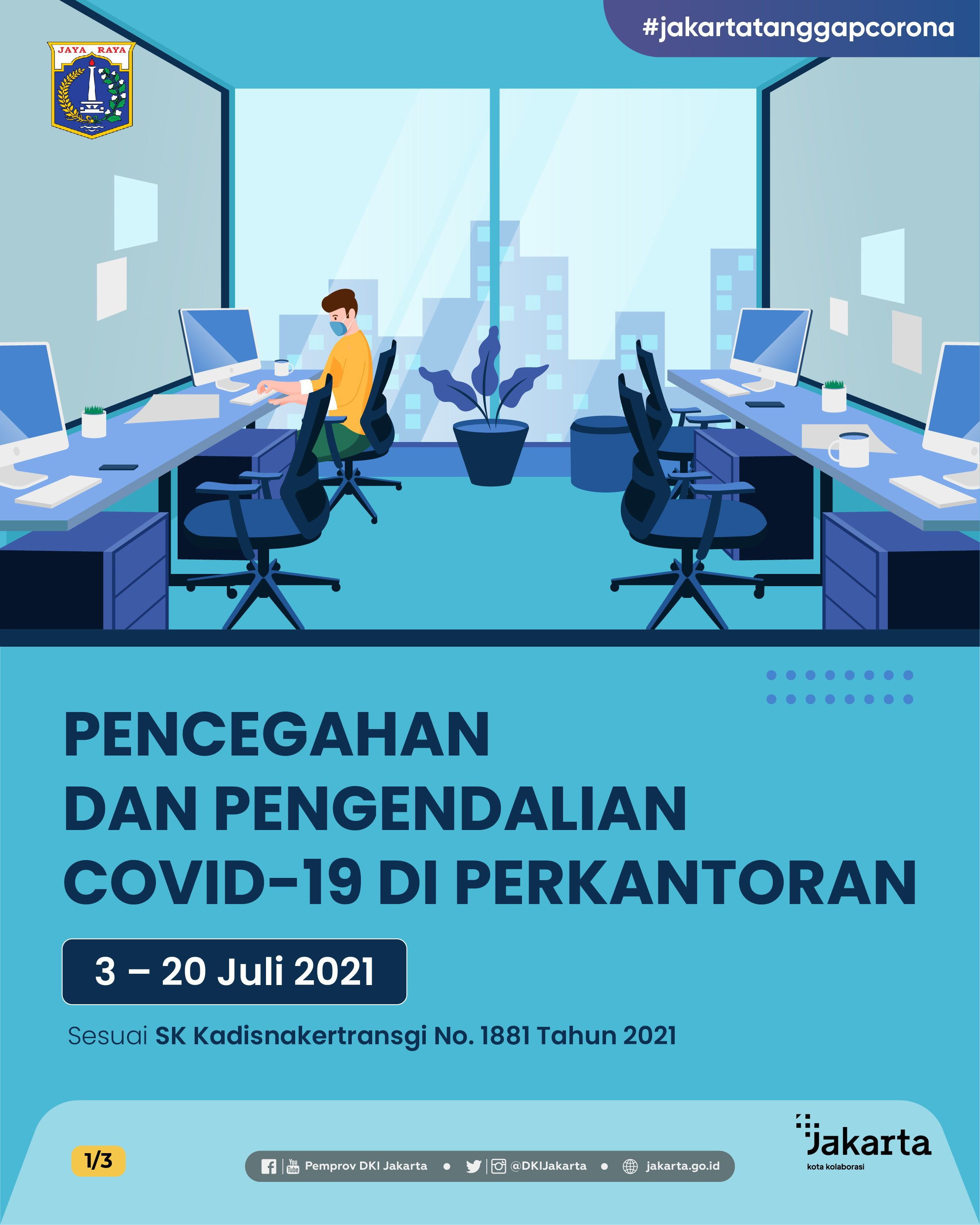 Covid-19 Prevention and Control At Offices