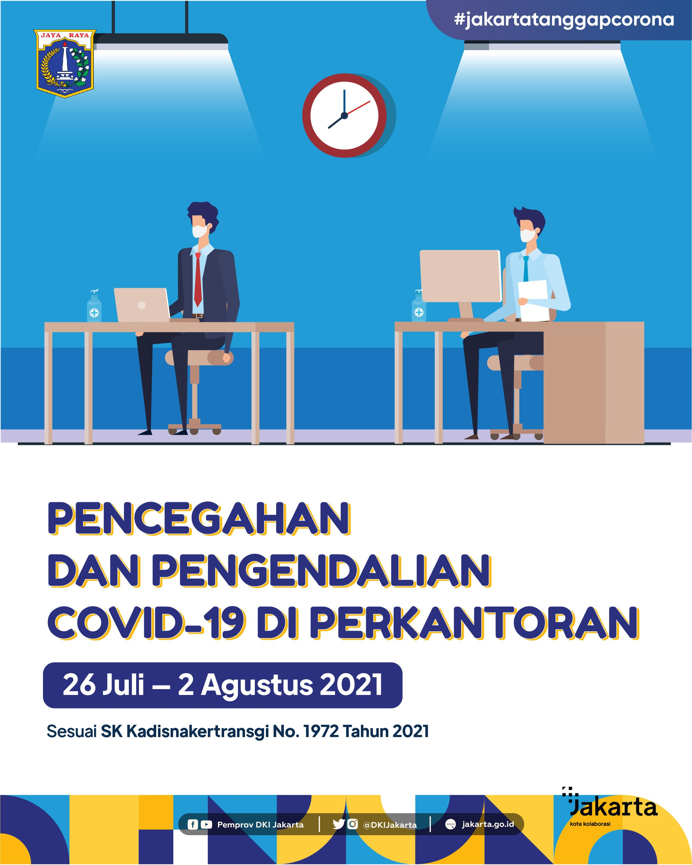 Prevention and Control of Covid-19 in the Office