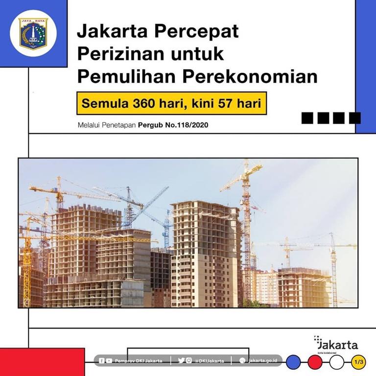 Jakarta Percepat Perizinan Gedung