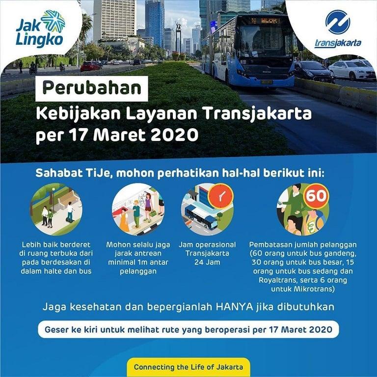 Perubahan Kebijakan Transportasi Umum