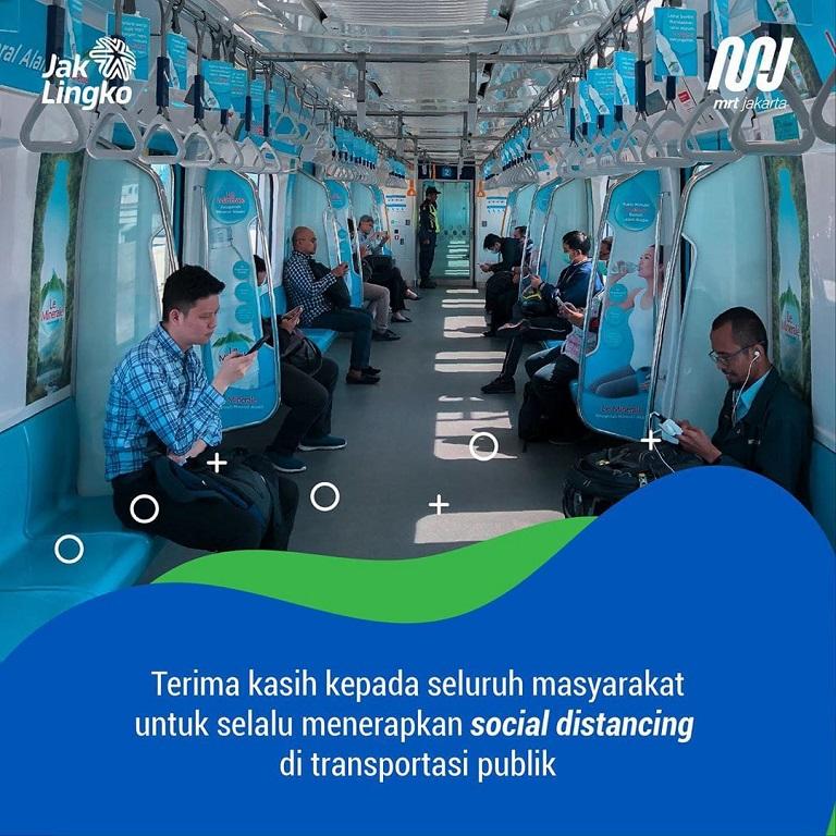 Social Distancing di Transportasi Umum